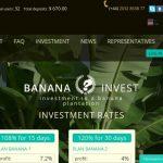 Banana Invest — Не платит, скам