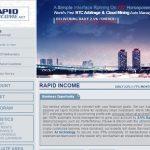 Rapidincome.net — Не платит, скам