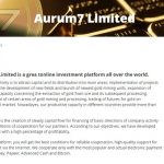 Aurum7.top — Не платит, скам